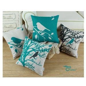4 Piece throw pillow covers